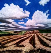 Original art for sale at UGallery.com | Make Hay While the Sun Shines by Patricia Freeman | $225 | acrylic painting | http://www.ugallery.com/acrylic-painting-make-hay-while-the-sun-shines