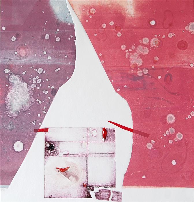 Discover Original Art by Karin Bruckner | FallingApart printmaking | Art for Sale Online at UGallery