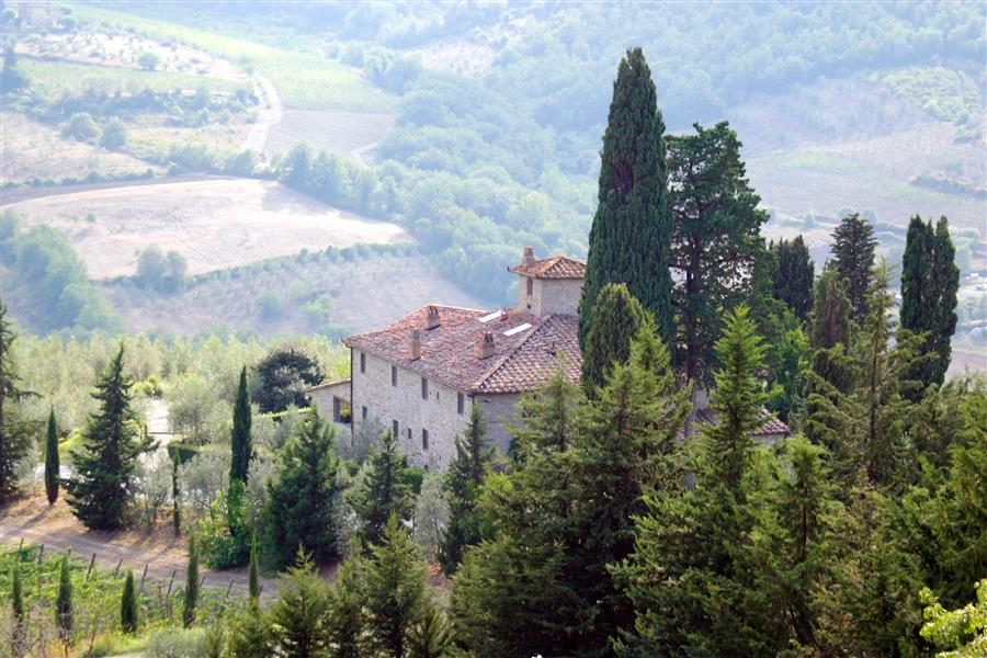 Original art for sale at UGallery.com | Tuscan Farmhouse at Vignamaggio, Chianti, Italy by MATHEW LODGE | $220 |  | ' h x ' w | http://www.ugallery.com/photography-tuscan-farmhouse-at-vignamaggio-chianti-italy