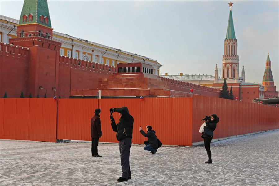 Original art for sale at UGallery.com | Red Square by MARIA PLOTNIKOVA | $145 |  | ' h x ' w | http://www.ugallery.com/photography-red-square