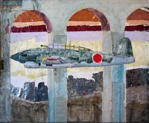 Surrealism art,Vroom Vroom! art,mixed media artwork,Judy/Dayroom