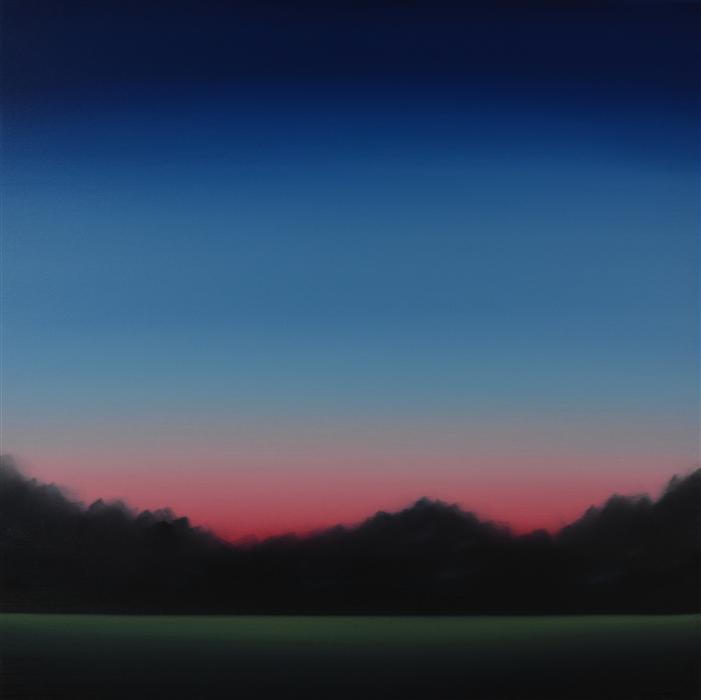 Original art for sale at UGallery.com | Clearing 475 by JOHN DIEHL | $1,675 | Oil painting | 35' h x 35' w | http://www.ugallery.com/oil-painting-clearing-475