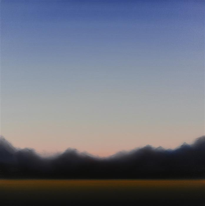 Original art for sale at UGallery.com | Clearing 460 by JOHN DIEHL | $1,675 | Oil painting | 35' h x 35' w | http://www.ugallery.com/oil-painting-clearing-460