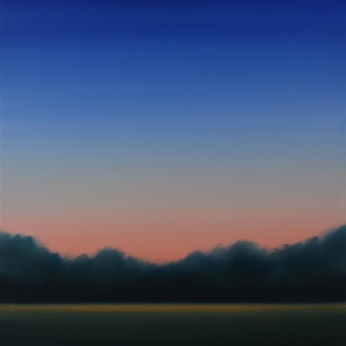 Original art for sale at UGallery.com | Clearing 470 by JOHN DIEHL | $1,675 | Oil painting | 35' h x 35' w | http://www.ugallery.com/oil-painting-clearing-470