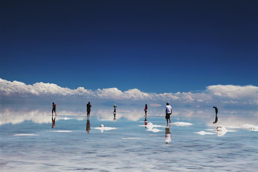 Original art for sale at UGallery.com | Salar de Uyuni by MARIA PLOTNIKOVA | $205 |  | ' h x ' w | http://www.ugallery.com/photography-salar-de-uyuni