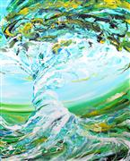 Discover Original Art by Piero Manrique | Swirling Tree acrylic painting | Art for Sale Online at UGallery