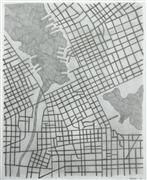 Abstract art,City art,pencil drawing,Imaginary City #20