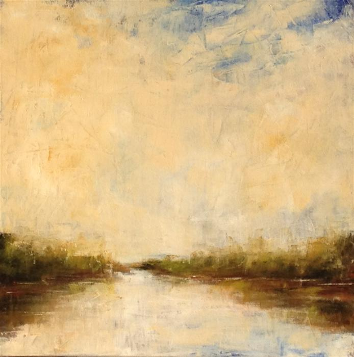 Discover Original Art by Mandy Main   Mystic River III oil painting   Art for Sale Online at UGallery