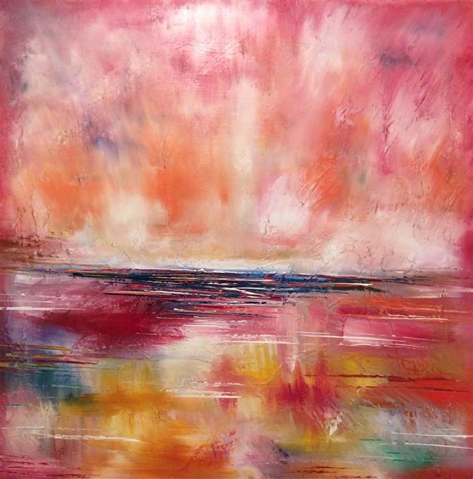 Discover Original Art by Chelsea Tikotsky | Burst of Light oil painting | Art for Sale Online at UGallery