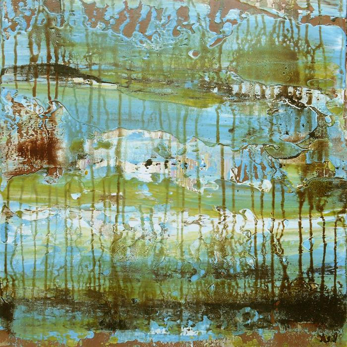 Discover Original Art by Lisa Carney | Marshland acrylic painting | Art for Sale Online at UGallery