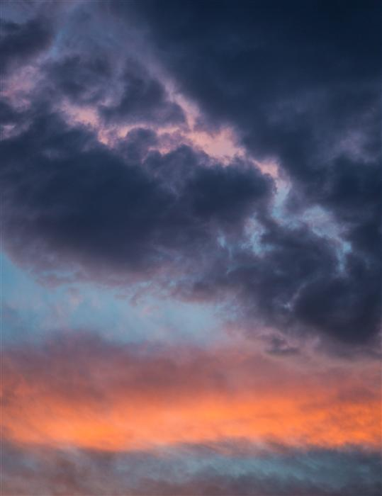 Original art for sale at UGallery.com | Orange Pink and Blue Sky by GRANT TAYLOR | $170 |  | ' h x ' w | http://www.ugallery.com/photography-orange-pink-and-blue-sky