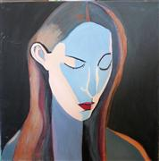 Original art for sale at UGallery.com | Elegant Head by Carolyn Schlam | $1,700 | oil painting | http://www.ugallery.com/oil-painting-elegant-head