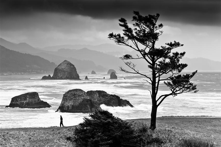 Original art for sale at UGallery.com | Oregon Coast Storm by JAY MOORE | $170 |  | ' h x ' w | http://www.ugallery.com/photography-oregon-coast-storm