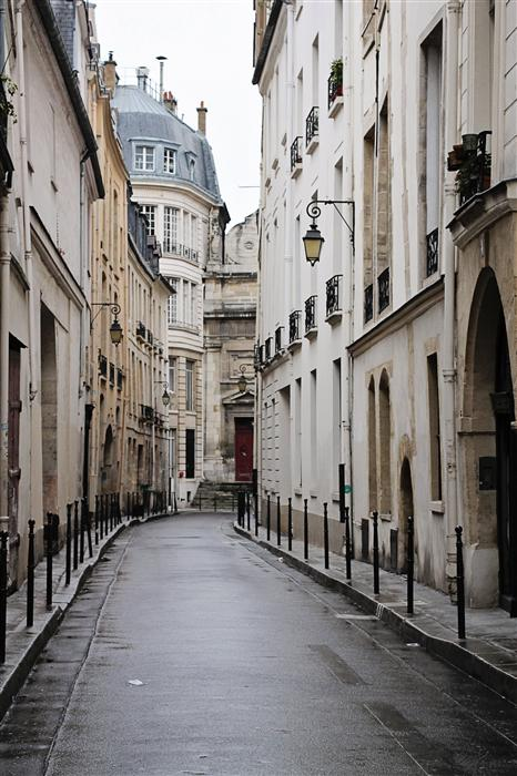 Original art for sale at UGallery.com | Quiet Morning in the Marais by REBECCA PLOTNICK | $195 |  | ' h x ' w | http://www.ugallery.com/photography-quiet-morning-in-the-marais