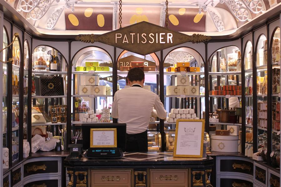 Original art for sale at UGallery.com | Paris Patisserie by REBECCA PLOTNICK | $195 |  | ' h x ' w | http://www.ugallery.com/photography-paris-patisserie