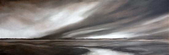 Original art for sale at UGallery.com | Aerial Dramatics by Mandy Main | $2,275 | oil painting | http://www.ugallery.com/oil-painting-aerial-dramatics