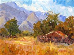 Impressionism art,Landscape art,oil painting,Open Range