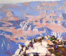 Impressionism art,Landscape art,Western art,oil painting,Yaki Point Grand Canyon