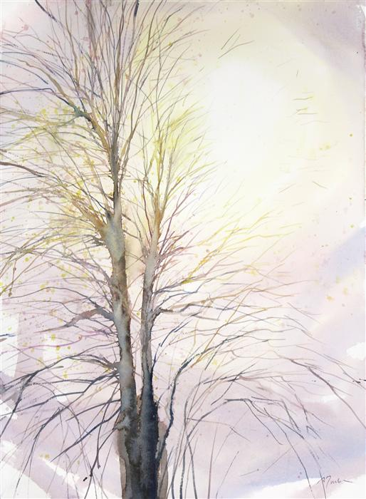Original art for sale at UGallery.com | New England No. 198 by SUMIYO TORIBE | $425 | Watercolor painting | 30' h x 22' w | http://www.ugallery.com/watercolor-painting-new-england-no-198