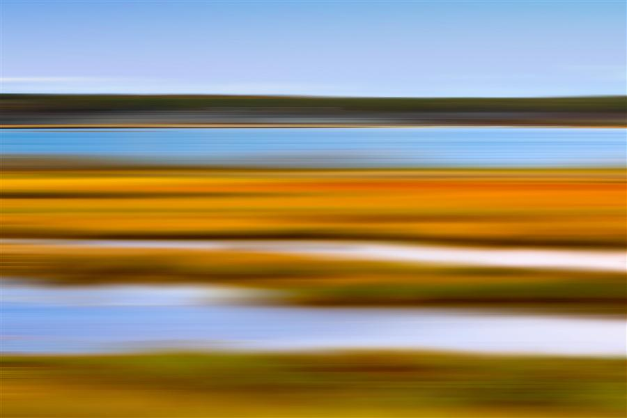 Original art for sale at UGallery.com | Autumn Marsh by KATHERINE GENDREAU | $170 |  | ' h x ' w | http://www.ugallery.com/photography-autumn-marsh