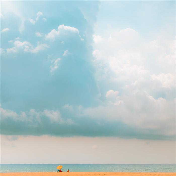 Original art for sale at UGallery.com | Yellow Umbrella by JOANNA PECHMANN | $185 |  | ' h x ' w | http://www.ugallery.com/photography-yellow-umbrella