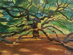 Original art for sale at UGallery.com | The Angel Oak by Patricia Freeman | $450 | oil painting | http://www.ugallery.com/oil-painting-the-angel-oak