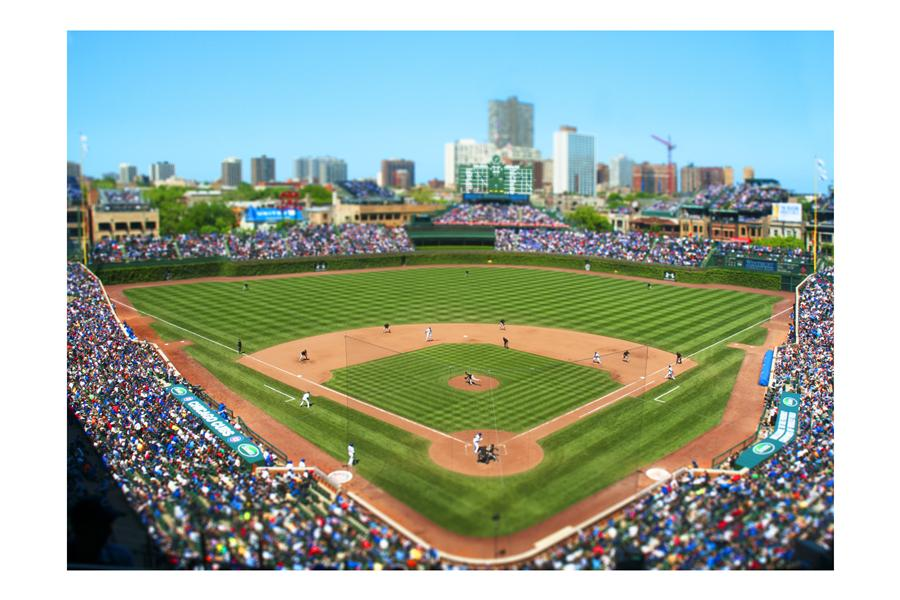 Discover Original Art by Bryan Solarski | Wrigley Field, Chicago photography | Art for Sale Online at UGallery