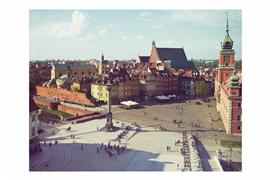 Discover Original Art by Bryan Solarski | Warsaw Old Town, Poland photography | Art for Sale Online at UGallery