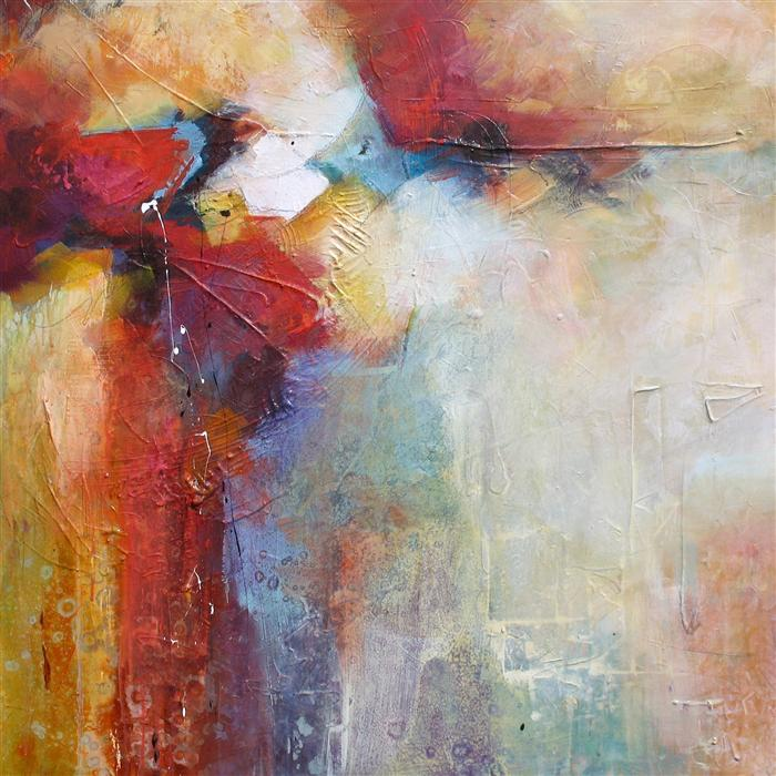 Buy original art by karen hale acrylic painting a for Abstract impressionism definition