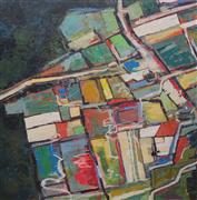 Original art for sale at UGallery.com | Color Map by Kim Kitz | $5,175 | oil painting | http://www.ugallery.com/oil-painting-color-map