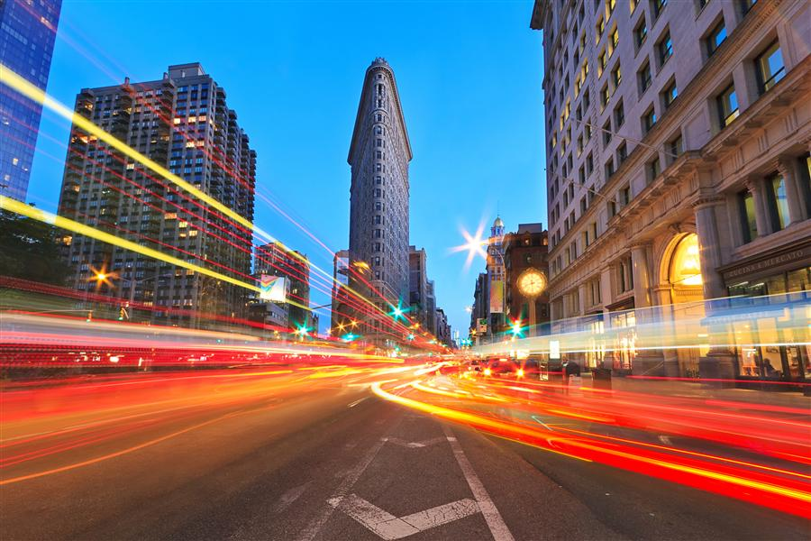 Discover Original Art by Katherine Gendreau | Flatiron Disco! photography | Art for Sale Online at UGallery