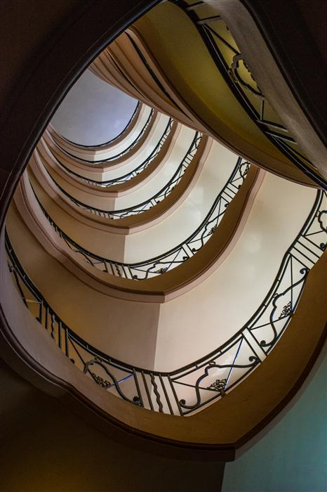 Original art for sale at UGallery.com | Grand Stair by RONALD ERSKINE | $145 |  | ' h x ' w | http://www.ugallery.com/photography-grand-stair