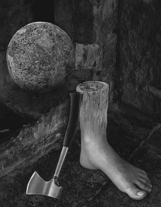 Discover Original Art by Dominic Rouse | Magritte, My Foot! photography | Art for Sale Online at UGallery