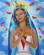 People art,Religion art,Surrealism art,oil painting,Regina Tropicalis