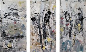 Discover Original Art by Gloria Blatt | Unsolved acrylic painting | Art for Sale Online at UGallery