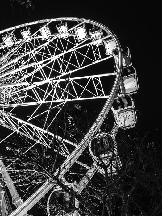Discover Original Art by Jack Androvich | Ferris Wheel Cape Town photography | Art for Sale Online at UGallery
