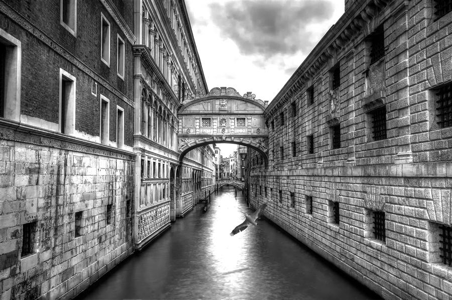 Original art for sale at UGallery.com | The Bridge of Sighs by JAMES COLE | $220 |  | ' h x ' w | http://www.ugallery.com/photography-the-bridge-of-sighs