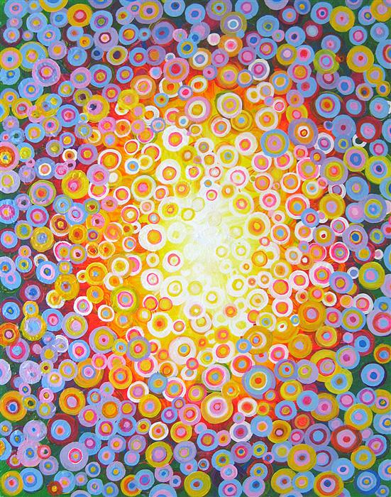 Discover Original Art by Natasha Tayles | Mandala acrylic painting | Art for Sale Online at UGallery