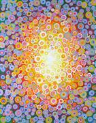 Abstract art,Religion art,acrylic painting,Mandala