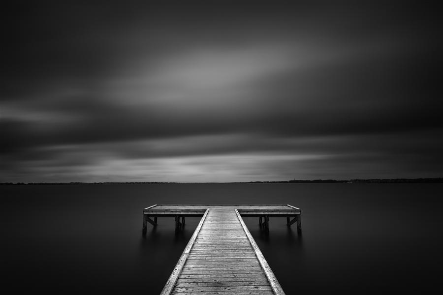 Original art for sale at UGallery.com | The Pier at Sandy Point by ANDREW VERNON | $220 |  | ' h x ' w | http://www.ugallery.com/photography-the-pier-at-sandy-point