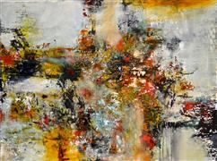Abstract art,Expressionism art,acrylic painting,Fall Back