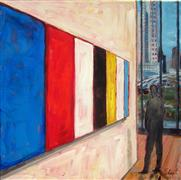 Discover Original Art by Elliot Coatney | Ellsworth Kelly in Chicago acrylic painting | Art for Sale Online at UGallery