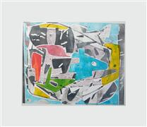 Abstract art,Expressionism art,printmaking,FishTank