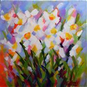 Children's art,Still Life art,Flora art,acrylic painting,Prism Petals