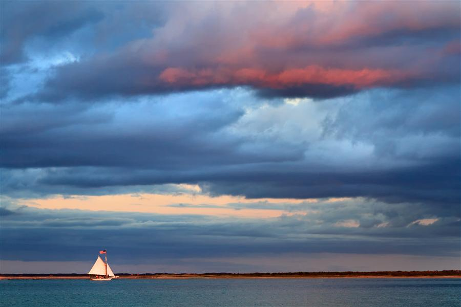 Original art for sale at UGallery.com | Sunset Sail by KATHERINE GENDREAU | $170 |  | ' h x ' w | http://www.ugallery.com/photography-sunset-sail