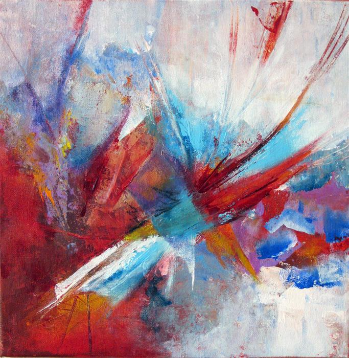 Original art for sale at UGallery.com | Breakthrough by DONNA JOHANSEN | $400 | Acrylic painting | 12' h x 12' w | http://www.ugallery.com/acrylic-painting-breakthrough-34869