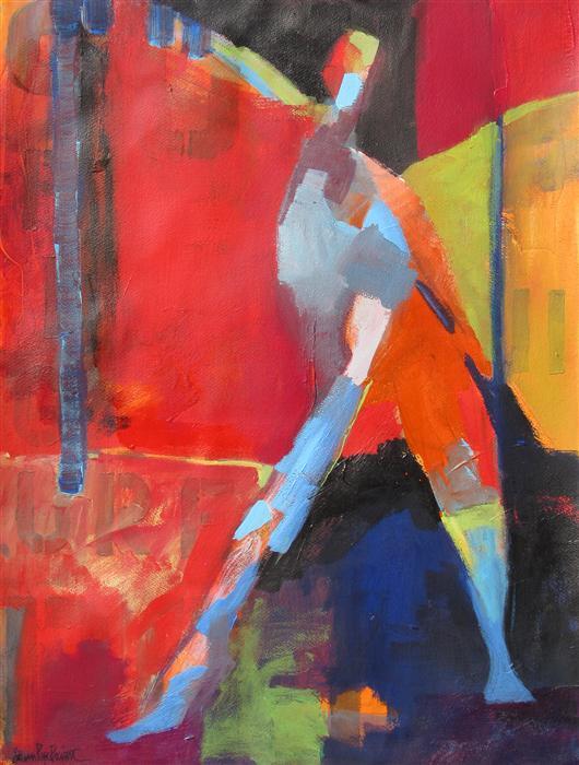 Discover Original Art by Steven Prewitt | Figure II mixed media artwork | Art for Sale Online at UGallery