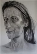 People art,Realism art,Representational art,charcoal drawing,Past Life 1