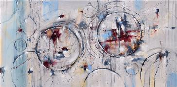 Abstract art,Expressionism art,Non-representational art,oil painting,If I Could Go Far Away
