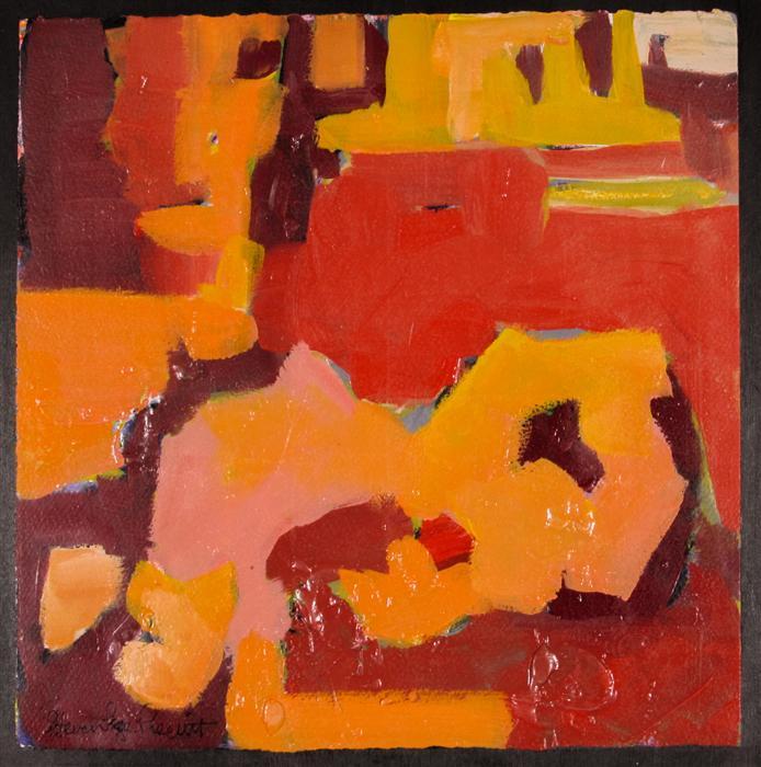 Original art for sale at UGallery.com | Abstract Sketchbook Series III by STEVEN PREWITT | $250 | Acrylic painting | 12' h x 12' w | http://www.ugallery.com/acrylic-painting-abstract-sketchbook-series-iii